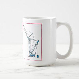 Blue Crawler Crane Mug