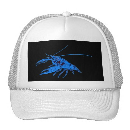 blue crayfish (Black scenery) Cap