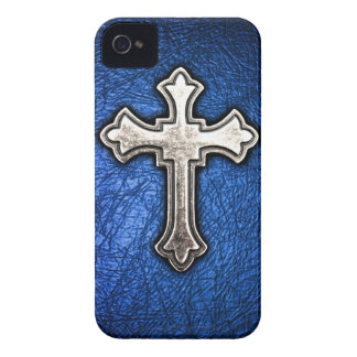 Blue Cross iPhone 4 Covers