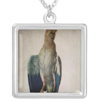 Blue Crow, 1512 Silver Plated Necklace