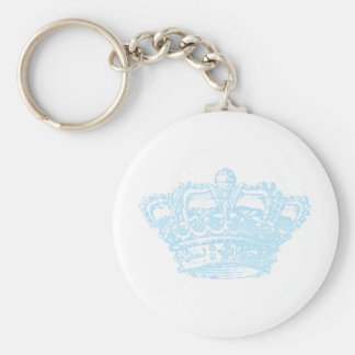 Blue Crown Key Ring