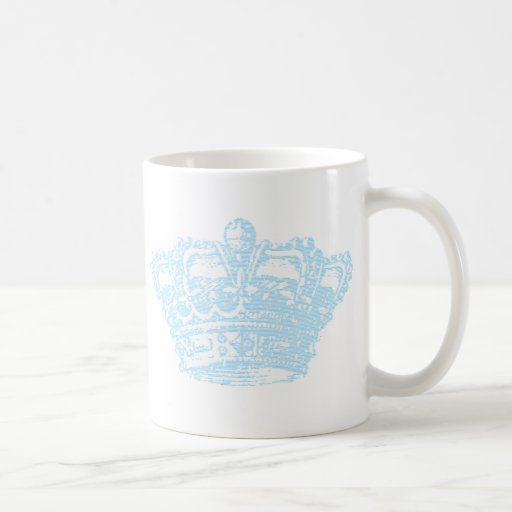 Blue Crown Coffee Mugs