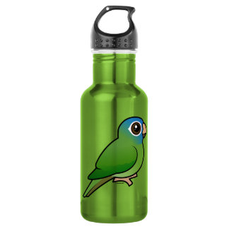Blue-crowned Conure 532 Ml Water Bottle