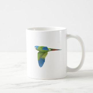 Blue-crowned Conure Basic White Mug