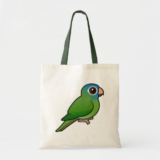 Blue-crowned Conure Budget Tote Bag