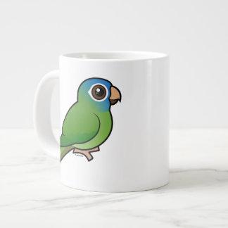 Blue-crowned Conure Jumbo Mug