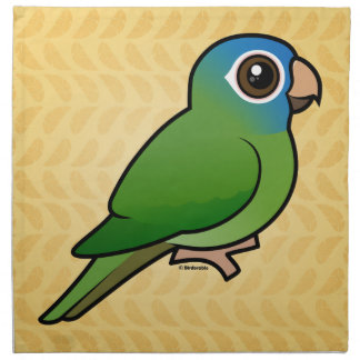 Blue-crowned Conure Printed Napkin