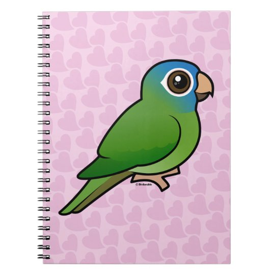 Blue-crowned Conure Notebook