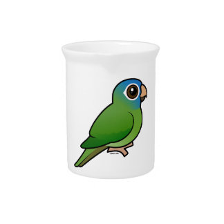 Blue-crowned Conure Drink Pitchers