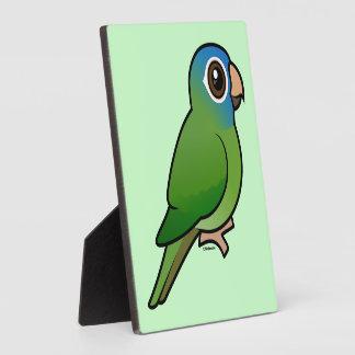 Blue-crowned Conure Photo Plaques