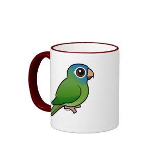 Blue-crowned Conure Ringer Mug