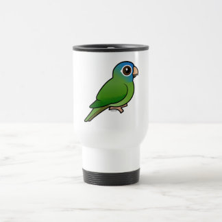 Blue-crowned Conure Stainless Steel Travel Mug