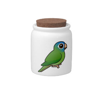 Blue-crowned Conure Candy Jar