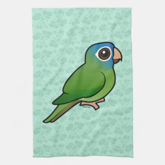 Blue-crowned Conure Hand Towel