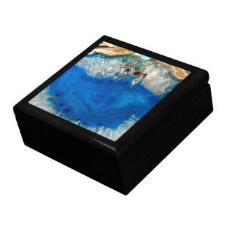 blue crystal gift box