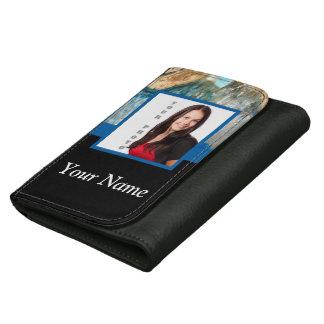 Blue crystal instagram template wallet
