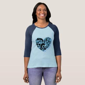 blue crystal T-Shirt