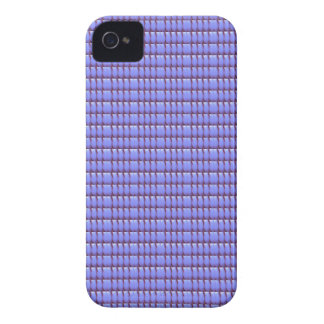 BLUE Crystal Template iPhone 4 Cases