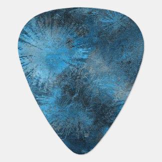 Blue Crystallized Ice Plectrum