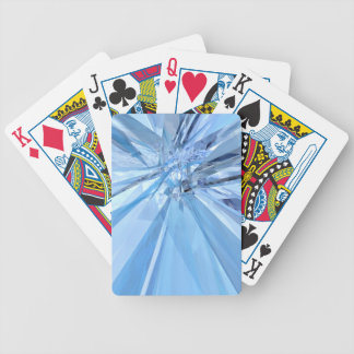Blue Crystals Bicycle Playing Cards