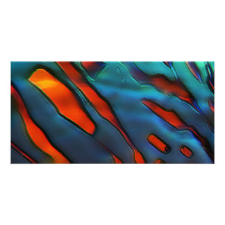 Blue Crystals Copper Sulfate Photo Cards