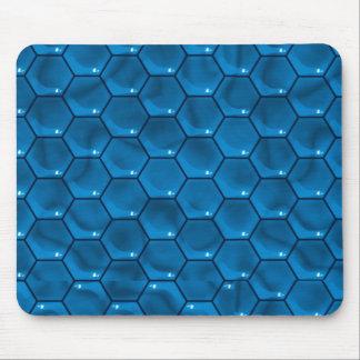 Blue Cube Mousepad