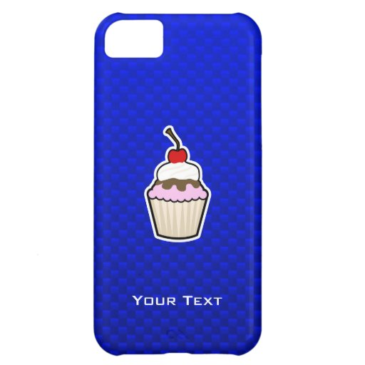 Blue Cupcake Case For iPhone 5C