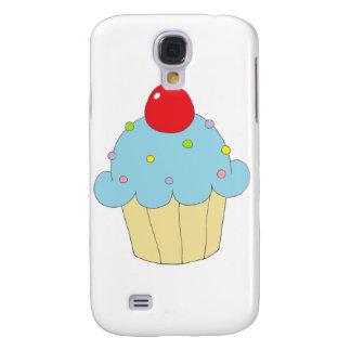 Blue Cupcake Galaxy S4 Case