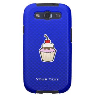 Blue Cupcake Samsung Galaxy S3 Cover