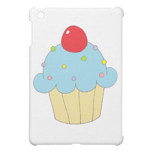 Blue Cupcake Cover For The iPad Mini