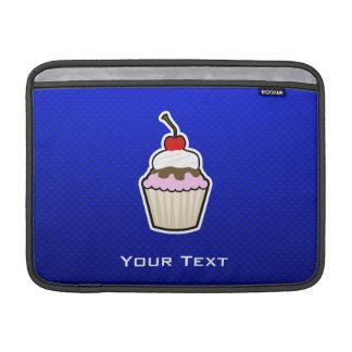 Blue Cupcake Sleeve For MacBook Air