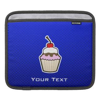 Blue Cupcake Sleeve For iPads