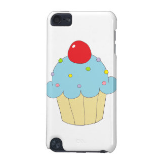 Blue Cupcake iPod Touch (5th Generation) Cases