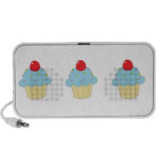 Blue Cupcake Portable Speaker