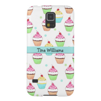 Blue Cupcake Samsung Galaxy S5 Case