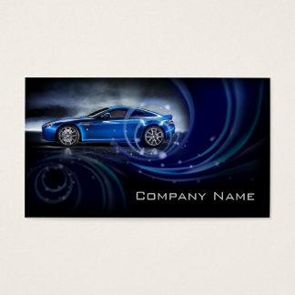 Blue Curves Automotive Business Card