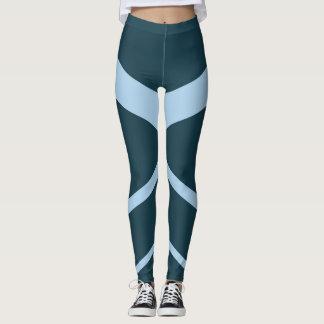 Blue Curves Leggings