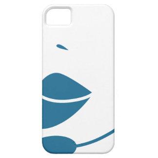Blue Customer Service Sales Representative Icon iPhone 5 Covers