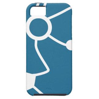 Blue Customer Service Sales Representative Icon iPhone 5 Cover