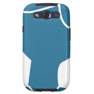 Blue Customer Service Sales Representative Icon Samsung Galaxy S3 Cover