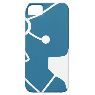 Blue Customer Service Sales Representative Icon iPhone 5 Case