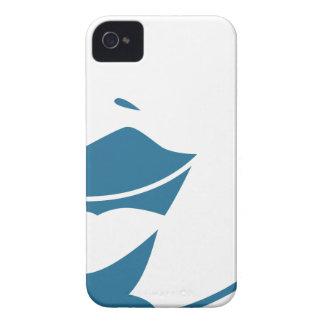 Blue Customer Service Sales Representative Icon Case-Mate iPhone 4 Case