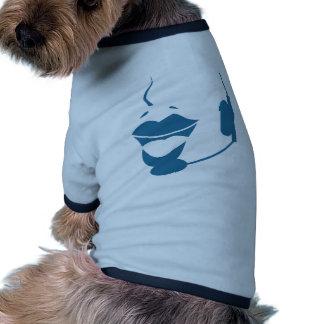 Blue Customer Service Sales Representative Icon Dog Clothing