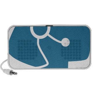 Blue Customer Service Sales Representative Icon Mini Speaker