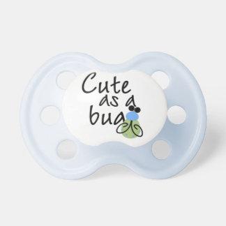 Blue Cute as a Bug Baby Pacifier