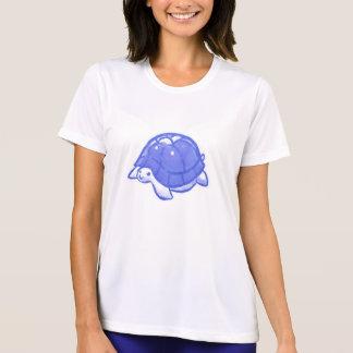 Blue Cute Cartoon Turtle Shirts