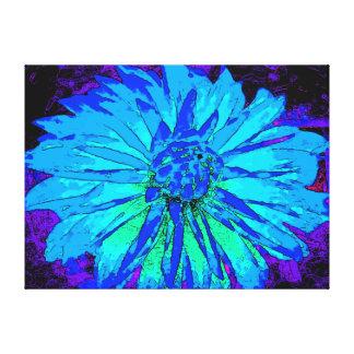 Blue Dahlia Gallery Wrap Canvas