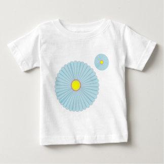 Blue Daisy Baby T-Shirt