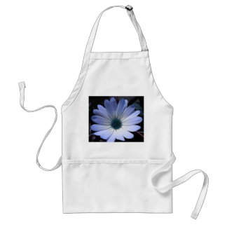 Blue Daisy Flower Apron