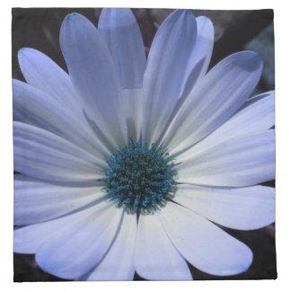 Blue Daisy Flower Napkin